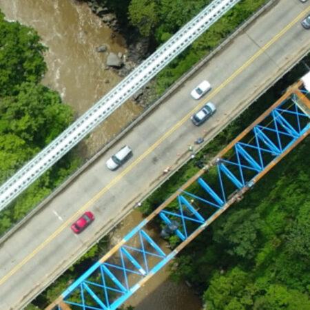 Inspección de puentes en Costa Rica